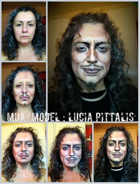 The Amazing Makeup By Lucia Pittalis