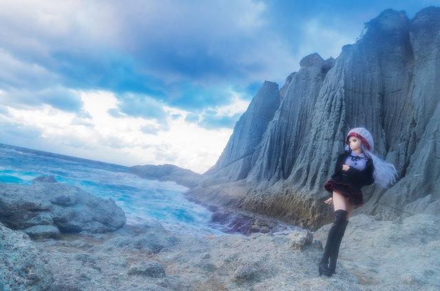 """Sea of heaven"". Location: Hotokegaura (Sai vill, Aomori). (AZURE)"