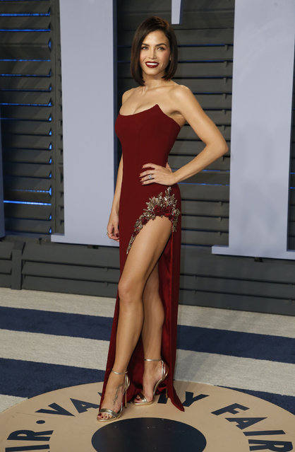 Jenna Dewan Tatum attends the 2018 Vanity Fair Oscar Party hosted by Radhika Jones at the Wallis Annenberg Center for the Performing Arts on March 4, 2018 in Beverly Hills, California. (Photo by Danny Moloshok/Reuters)