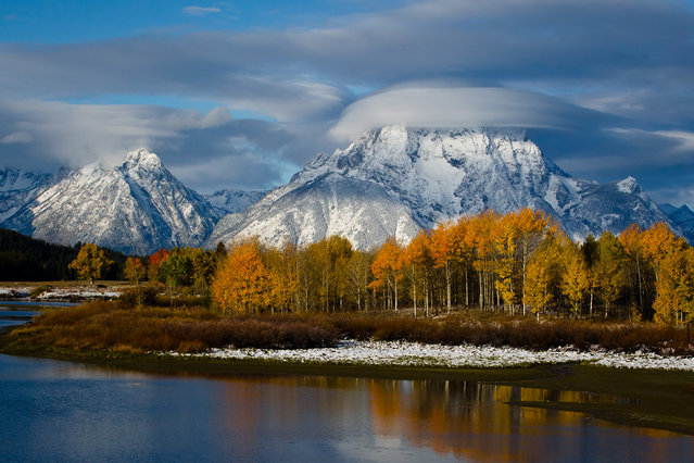 Grand Teton National Park is a United States National Park in northwestern Wyoming. (Photo by U.S. Department of the Interior/Cater News)