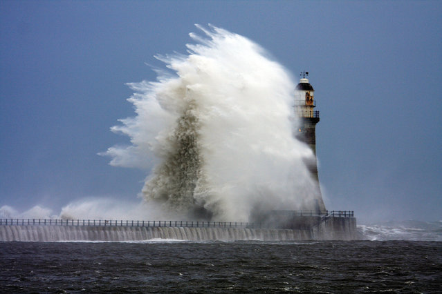 Rough at Roker, Sunderland, England, 2008. (Photo by Gail Johnson/The Guardian)
