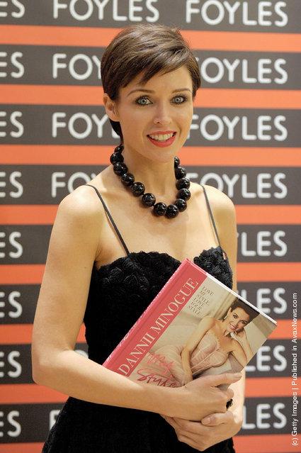 Dannii Minogue opens Foyles bookshop at Westfield Stratford City