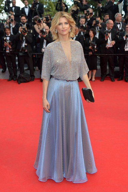 """Alice Taglioni attends the Opening ceremony and the """"Grace of Monaco"""" Premiere during the 67th Annual Cannes Film Festival on May 14, 2014 in Cannes, France. (Photo by Michael Buckner/Getty Images for Variety)"""