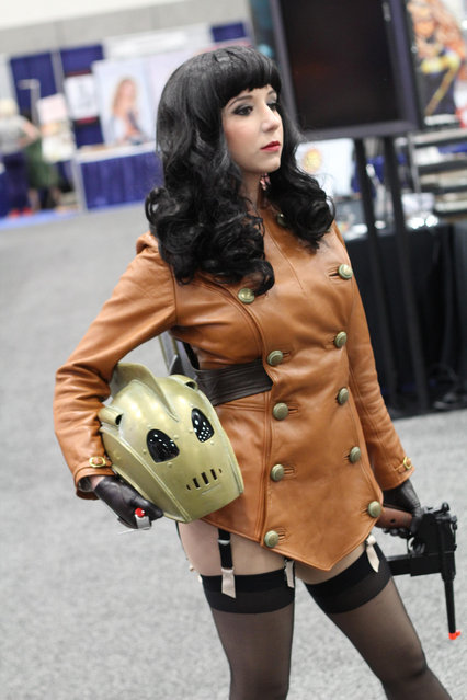 Rocketeer. Comic-Con International: San Diego 2012. (Photo by Pat Loika)