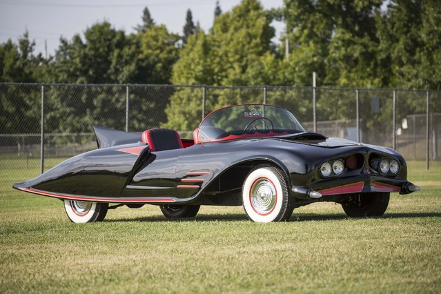 The 1963 Batmobile is shown in this photo released by Heritage Auctions, HA.com December 5, 2014. (Photo by Reuters/Heritage Auctions)