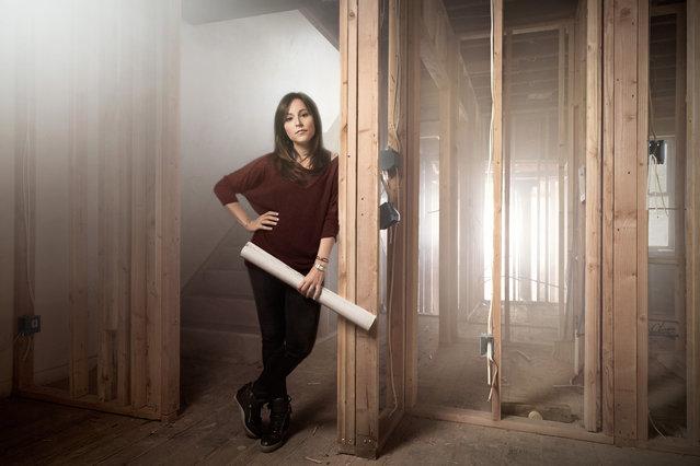 Alison Goldblum, a property developer in Philadelphia, Pennsylvania. (Photo by Chris Crisman/The Guardian)