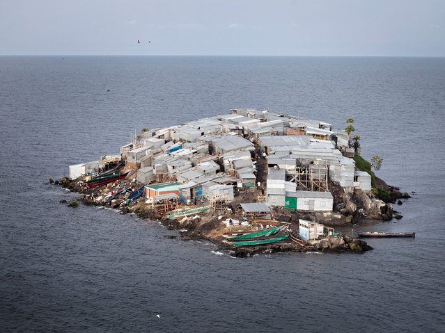 The Tiny Fishing Community On Migingo Island