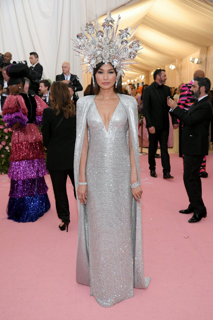 Gemma Chan attends The 2019 Met Gala Celebrating Camp: Notes on Fashion at Metropolitan Museum of Art on May 06, 2019 in New York City. (Photo by Neilson Barnard/Getty Images)