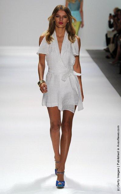 Luca Luca Runway Spring 2012 Mercedes-Benz Fashion Week