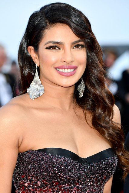 "Priyanka Chopra attends the screening of ""Rocketman"" during the 72nd annual Cannes Film Festival on May 16, 2019 in Cannes, France. (Photo by Dominique Charriau/WireImage)"