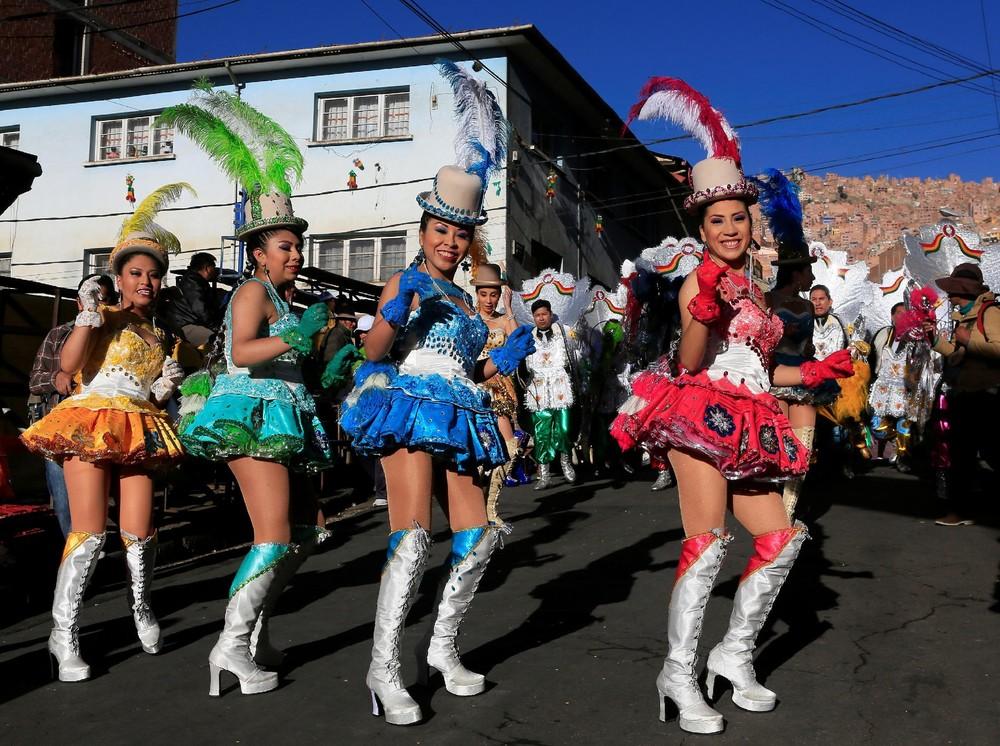 Senor del Gran Poder Parade in Bolivia
