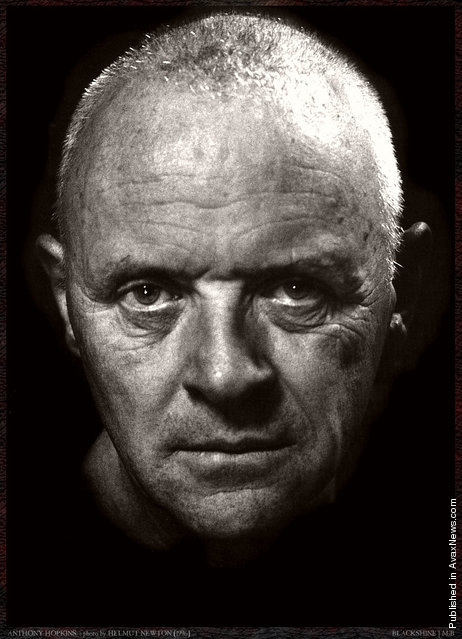 Photographers: Helmut Newton. Anthony Hopkins