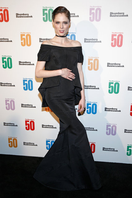 """Model Coco Rocha  attends """"The Bloomberg 50"""" Celebration at Gotham Hall on December 4, 2017 in New York City. (Photo by Brian Ach/Getty Images for Bloomberg)"""