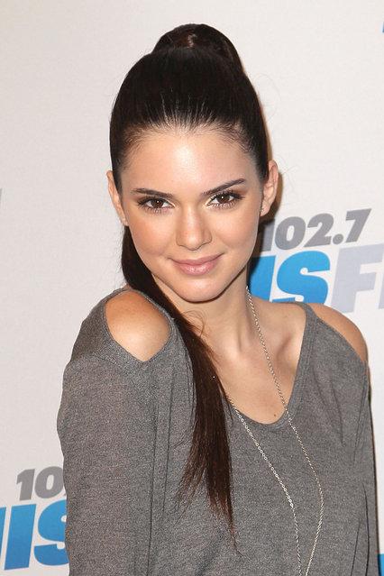 Kendall Jenner attends KIIS FM's Jingle Ball 2012 at Nokia Theatre LA Live on December 3, 2012 in Los Angeles, California. (Photo by Jason LaVeris/FilmMagic)