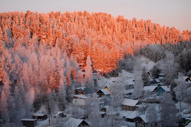 """Sunset"". (Photo by Ljudmila Bochkarjova)"
