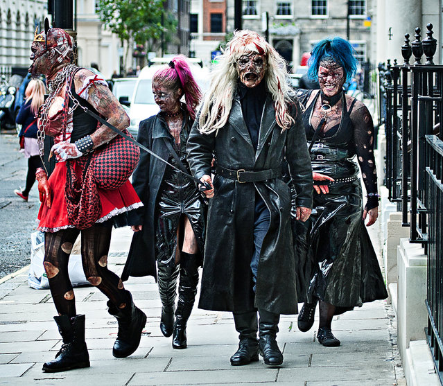 World Zombie Day 2013: London zombie walk. (Photo by Paul Barber)