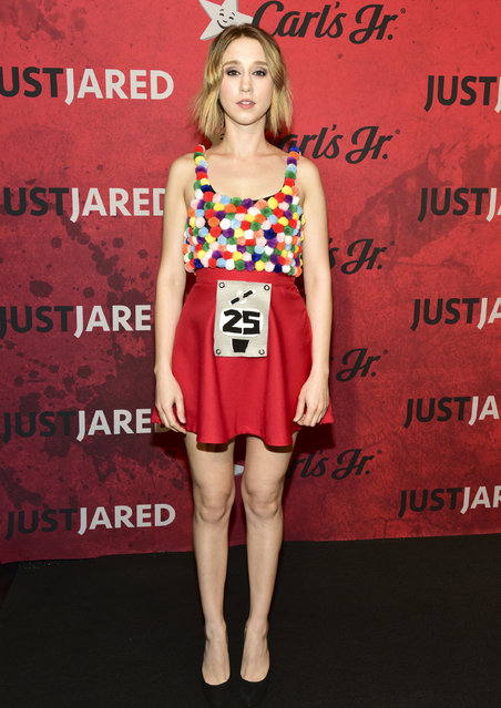 Taissa Farmiga attends Just Jared's 7th Annual Halloween Party at Goya Studios on October 27, 2018 in Los Angeles, California. (Photo by Rodin Eckenroth/Getty Images)