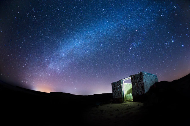 Back in September, we challenged the online Your Shot community with a question: What does the night mean to you? By way of an answer, we received 8,520 reader-submitted photos. Our editors selected 35 to publish, including this one – a view of the Milky Way above Oman, taken by Al-nahdi Mohammed. (Photo by Al-nahdi Mohammed/National Geographic)