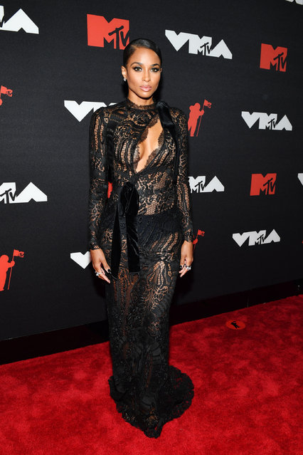 """""""Goodies"""" singer Ciara attends the 2021 MTV Video Music Awards at Barclays Center on September 12, 2021 in the Brooklyn borough of New York City. (Photo by Noam Galai/Getty Images for MTV/ViacomCBS)"""