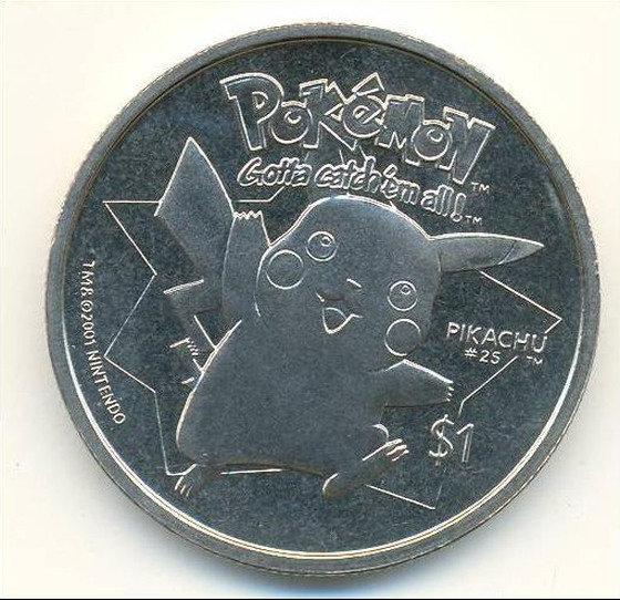 Niue Pokemon Legal Coins