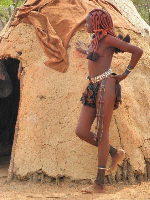 Himba Beauty Girl. Photo by Anilegna