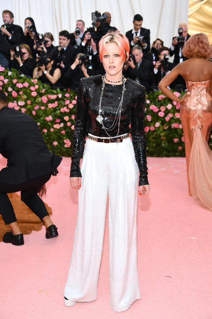 Kristen Stewart attends The 2019 Met Gala Celebrating Camp: Notes on Fashion at Metropolitan Museum of Art on May 06, 2019 in New York City. (Photo by Dimitrios Kambouris/Getty Images for The Met Museum/Vogue)