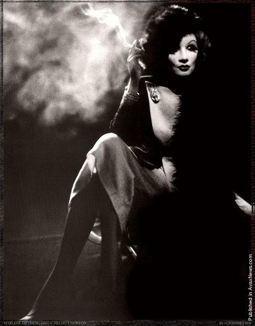 Photographers: Helmut Newton. Marlene Dietrich