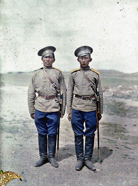 Two Cossack soldiers in Urga
