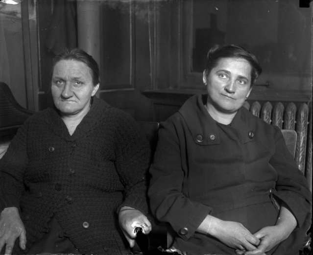 "Tillie Klimek, right, and her cousin Nellie Stermer-Koulik, left, were accused of poisoning 20 husbands, children and friends between the two of them with arsenic poisoning. Fourteen of the 20 died and six lived. Klimek, who had killed her first three husbands, was convicted and sentenced to life in prison on March 31, 1923 for the death of her third husband who, according to the Chicago Tribune, had in him ""enough arsenic to kill four men"". (Photo by Chicago Tribune Historical Photo)"