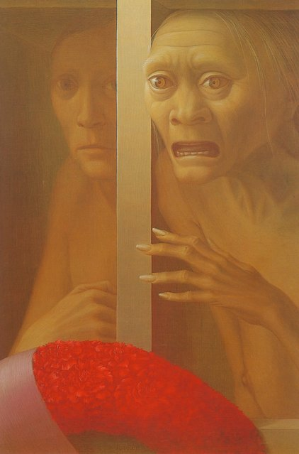 The Lesson. Artwork by George Tooker