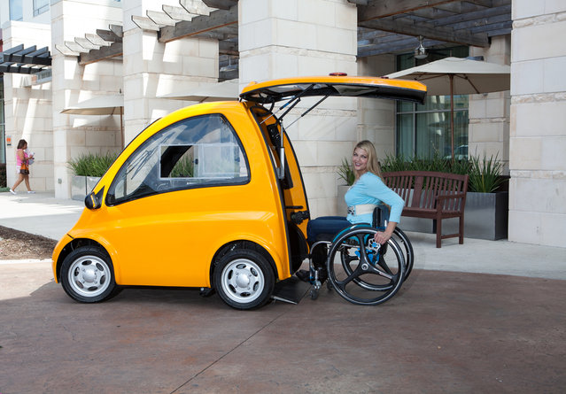 Kenguru Electric Car For Disabled People