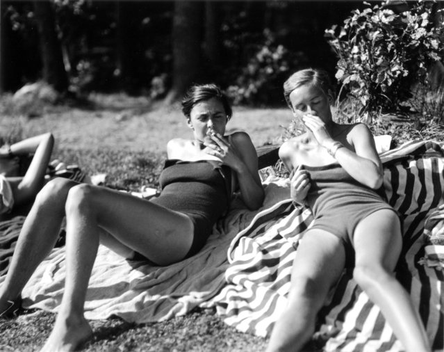 Sacrow, 1934. (Photo by Marianne Breslauer)