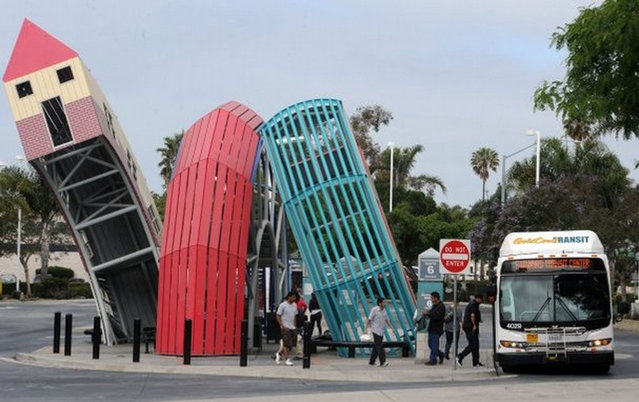 Bus Home By Dennis Oppenheim