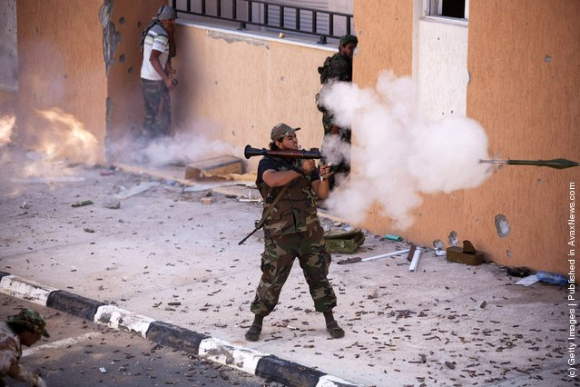 Interim Authority Forces Target Sirte