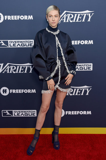 Hunter Schafer attends Variety's Power Of Young Hollywood at The H Club Los Angeles on August 6, 2019 in Los Angeles, California. (Photo by Gregg DeGuire/WireImage)