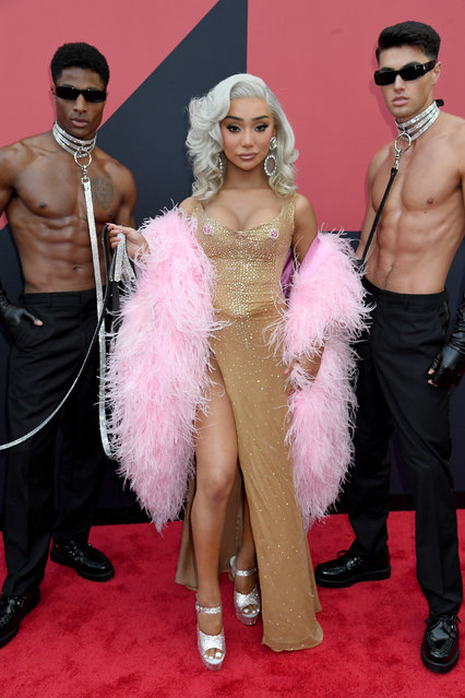 Nikita Dragun attends the 2019 MTV Video Music Awards at Prudential Center on August 26, 2019 in Newark, New Jersey. (Photo by Jeff Kravitz/FilmMagic)