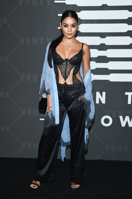 Vanessa Hudgens attends Savage X Fenty Show Presented By Amazon Prime Video – Arrivals at Barclays Center on September 10, 2019 in Brooklyn, New York. (Photo by Dimitrios Kambouris/Getty Images for Savage X Fenty Show Presented by Amazon Prime Video)