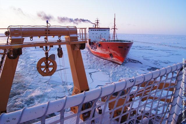 Russian Tanker Renda Delivers Fuel To Nome, Alaska