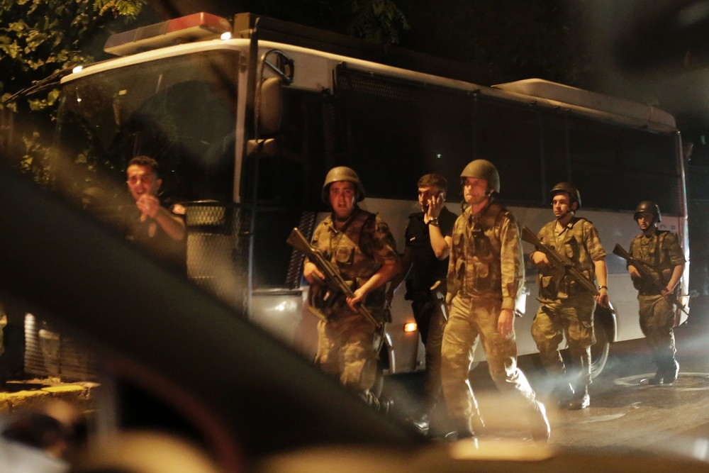Military Coup Attempt in Turkey, Part 1/2