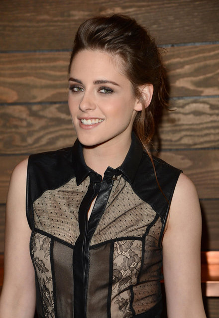 """Actress Kristen Stewart attends the private Los Angeles screening of """"On The Road"""" at Sundance Cinema on December 6, 2012 in Los Angeles, California. (Photo by Jeff Vespa/WireImage)"""