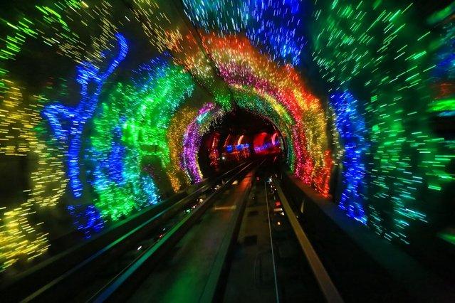 The Bund Sightseeing Tunnel In Shanghai