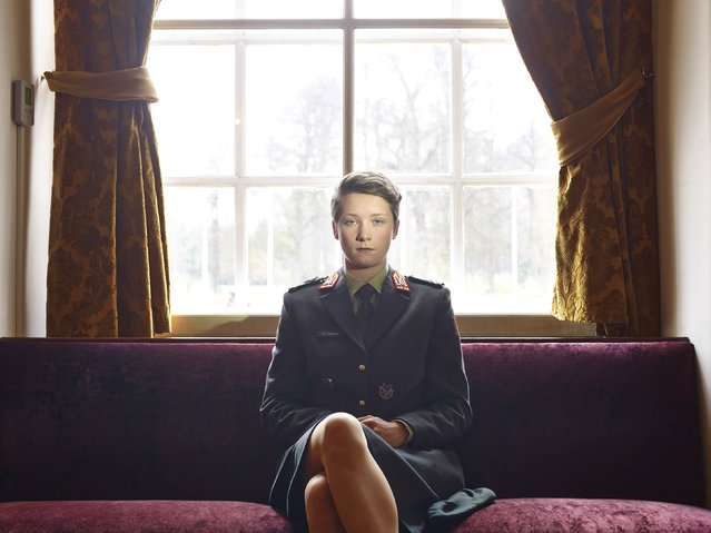 Paolo Verzone, an Italian photographer of Agence VU, won the Third Prize in the Portraits Category, Stories, of the 2015 World Press Photo contest with his series of portraits, which includes this one of a cadet at the Koninklijke Militaire Academie (Royal Military Academy) in Breda, the Netherlands in this picture taken December 18, 2013 and released by the World Press Photo on February 12, 2015. (Photo by Paolo Verzone/Reuters/Agence Vu/World Press Photo)