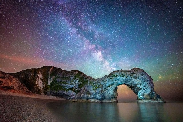 These space-tacular pictures of the gateway to the Milky Way are the shining star of asto-photographer Stephen Banks, on Oktober 13, 2013. (Photo by Stephen Banks/Caters News)