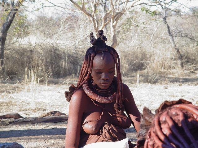 Himba Beauty Girl. Photo by Ivan Rejon
