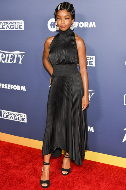 Marsai Martin attends Variety's Power of Young Hollywood at The H Club Los Angeles on August 06, 2019 in Los Angeles, California. (Photo by Rodin Eckenroth/Getty Images)