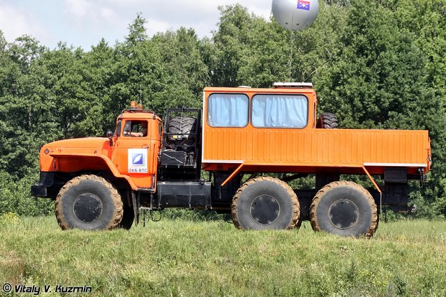All-terrain vehicle Ural-Polyarnik