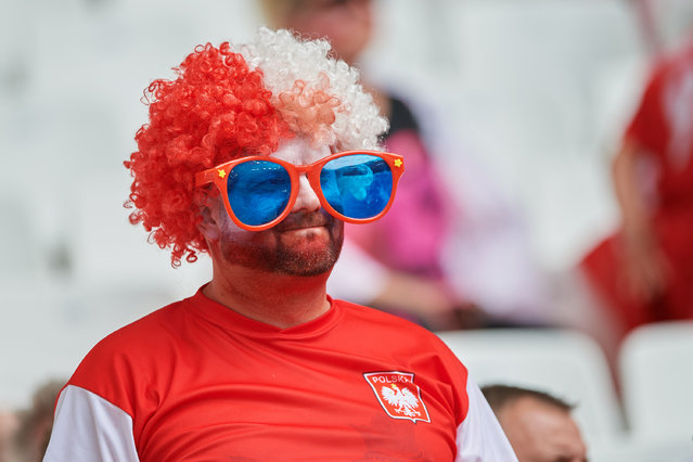 Polish fan before the UEFA Euro 2016 Group C match between Ukraine and Poland at Stade Velodrome on June 21, 2016 in Marseille, France. (Photo by Lukasz Szelag/Gallo Images Poland/Getty Images)