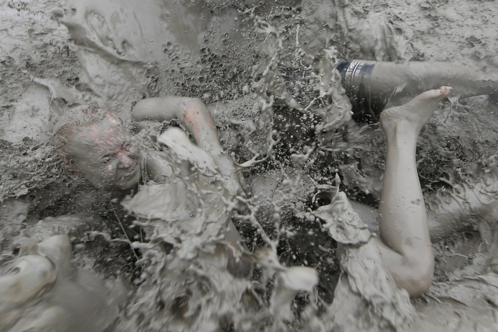 The 20th Boryeong Mud Festival in South Korea