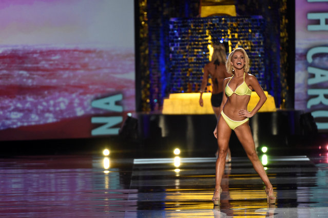 Miss South Carolina Suzi Roberts competes in the swimsuit competition of the 97th Miss America Competition in Atlantic City, New Jersey U.S. September 10, 2017. (Photo by Mark Makela/Reuters)
