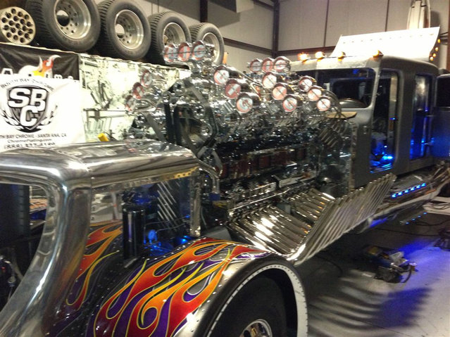 Supercharged 24 Cylinder Engine